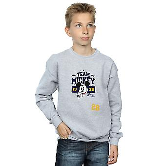 Disney Boys Mickey Mouse Team Mickey Sweatshirt
