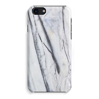 iPhone 7 pełny głowiczki (błyszcząca) - pasiasty marmuru