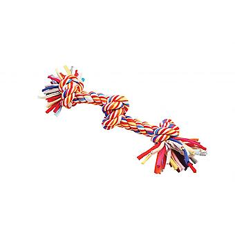 Happy Pet Twist-Tee 3 Knot Dog Toy