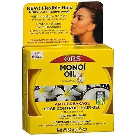 ORS Olive Monoi Oil Tahitian Coconut Anti Breakage Edge Control Gel 64g