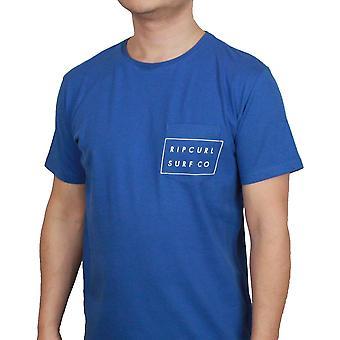 Rip Curl T-Shirt ~ Rip Surfco Pocket