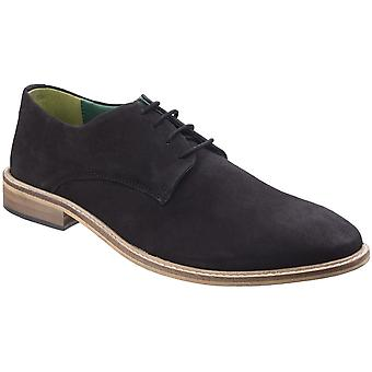 Lambretta Mens Scotts Derby Lace Up Durable Leather Oxford Smart Shoes