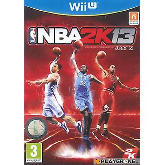 NBA 2K13 (WiiU) - Como novo
