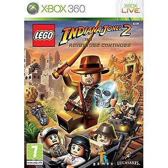 LEGO Indiana Jones 2 Het avontuur gaat door (Xbox 360) - Als nieuw