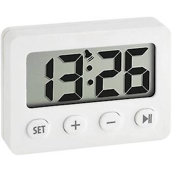 TFA Dostmann 60.2014.02 Quartz Alarm clock White Alarm times 1