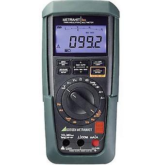 Gossen Metrawatt Metrahit Iso Insulation testador 50 V, 100 V, 250 V, 500 V, 1000 V 3.1 GΩ