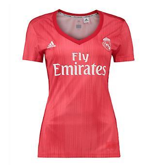2018-2019 ريال مدريد قميص أديداس المرأة الثالثة