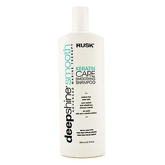 Rusk Deepshine gladde keratine Care Smoothing Shampoo - 355ml / 12oz