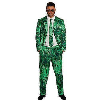 Hennep suit heren kostuum pak marihuana cannabis dope