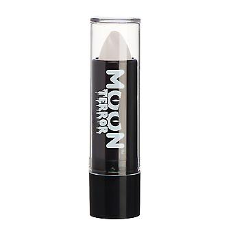 Moon Terror - Halloween Lipstick makeup - 5g - Easily create spooky designs like a pro! Perfect for vampire, ghost, skeleton, witch, pumpkin, monster etc - Wicked White