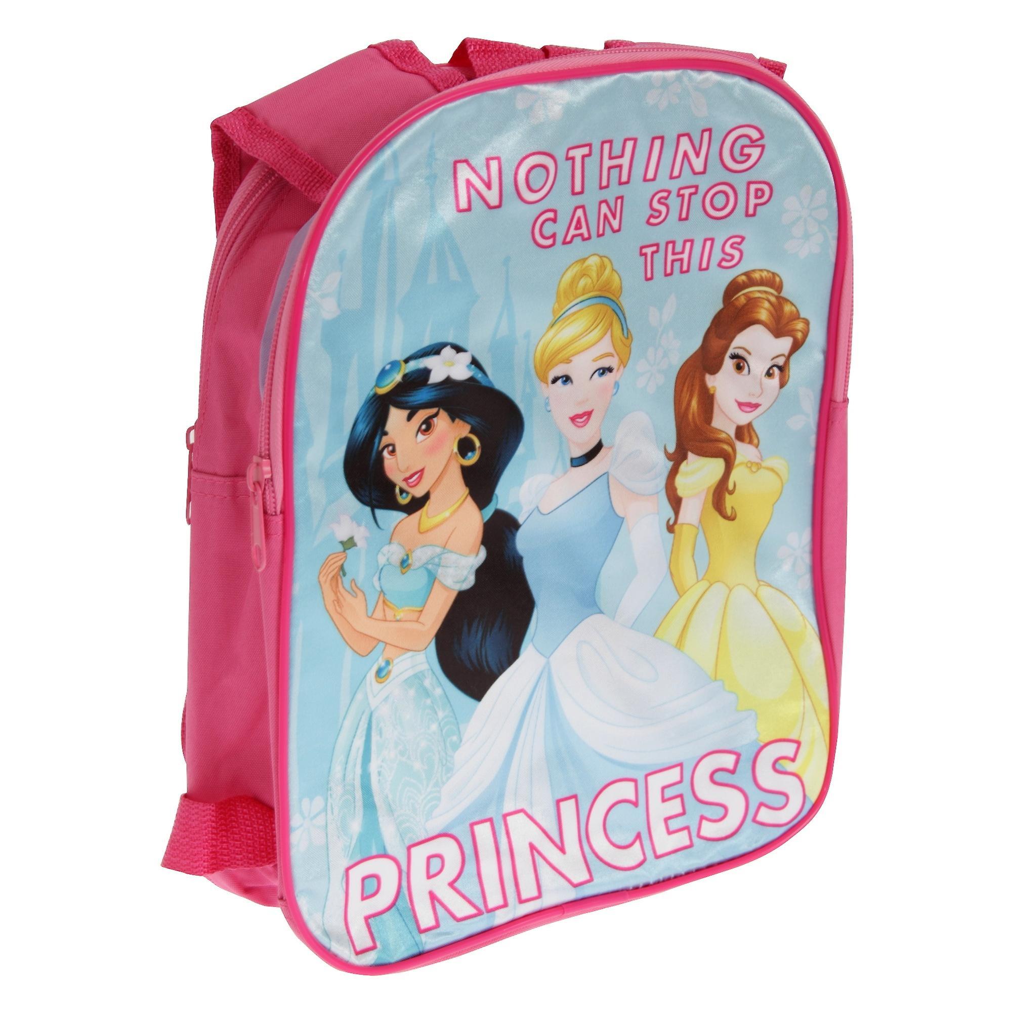 Disney piger intet kan stoppe denne Princess rygsæk med vendbar stropper