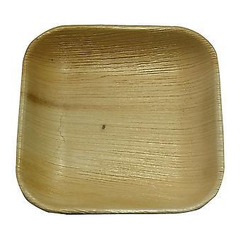 Öko-Einweg-Party-Platten - 17cm Quadrat (25 Platten)