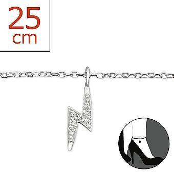 Lightning Bolt - pulseras de plata esterlina 925 - W27649x
