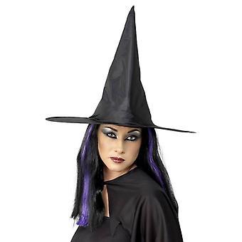 Bnov Witch Hat Black Nylon Plain