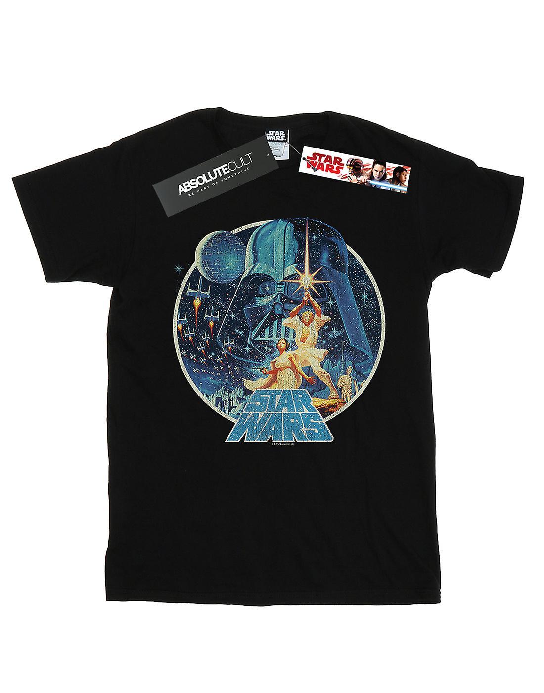 Star Wars Women's Vintage Victory Boyfriend Fit T-Shirt