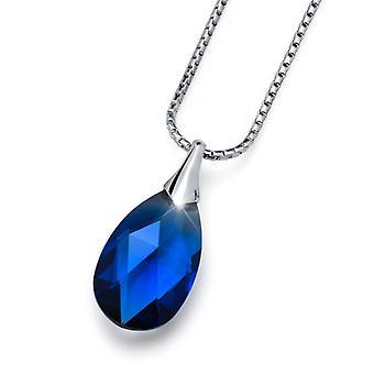 Oliver Weber Pendant Vitality Small Rhodium Silver Glaze
