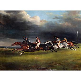 The EPAs Derby, Theodore Gericault, 50x40cm