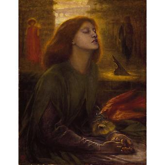 Beata Beatrix,Dante Gabriel Rossetti,50x40cm