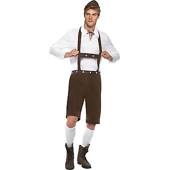 Bavarian Man Costume, Chest 38
