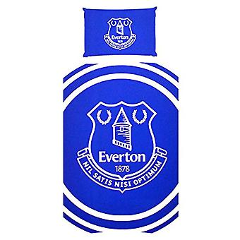 Everton FC Pulse één Dekbedovertrek en kussen zaak Set