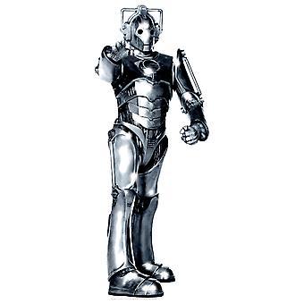 Cyberman pöydälle, (Doctor Who)-pöydän pahvi automaattikatkaisin / seisoja