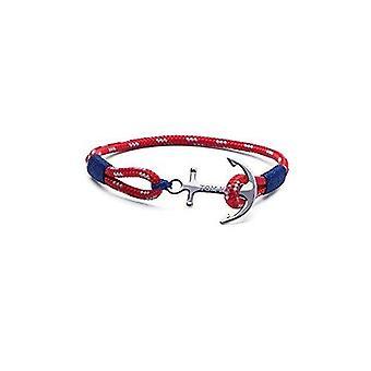 Tom Hope Sterling Silver Arctic Blue Bracelet Small TM0021