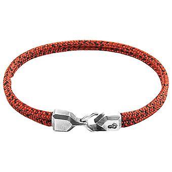 Якорь и экипаж Cromer Noir веревку браслет - красный/черный