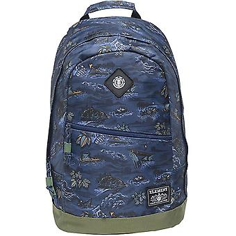 Element Camden Backpack in River Rats Blue