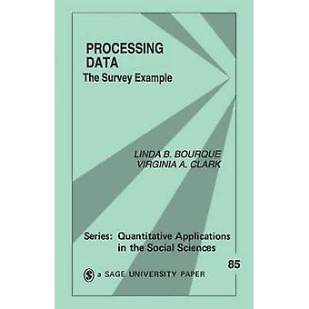 Processing Data The Survey Example by Bourque & Linda B.