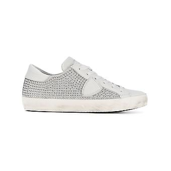Philippe Model Clldss02 Women's White Leather Sneakers