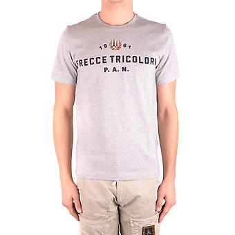 Aeronautica Militare Ezbc047013 Men's Grey Cotton T-shirt