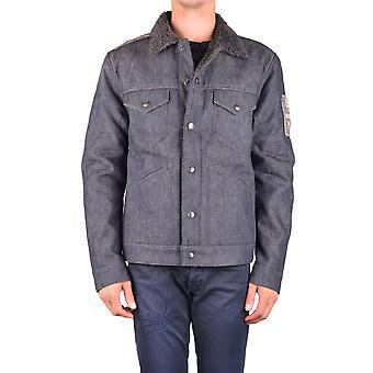Jacob Cohen Ezbc054251 Herren's blaue Baumwoll-Outerwear Jacke