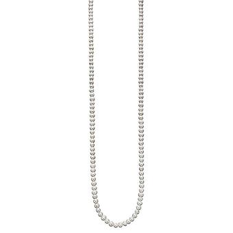 Beginnings Freshwater Pearl Long Necklace - Clear