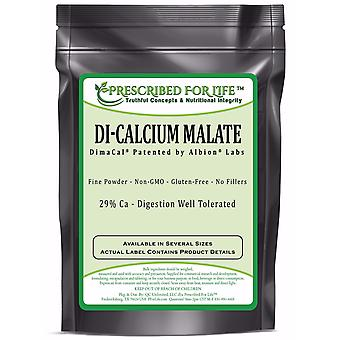 Calcium - Pure DiCalcium Malate Powder - 29% Ca - DimaCal (R) by Albion