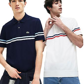 Lacoste Mens Waffle Pique Embroidered Sport Polo Shirt