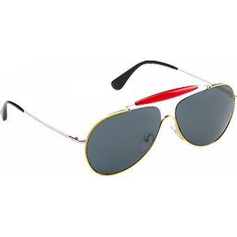 Prada SPR56S yellow/red/silver dark blue