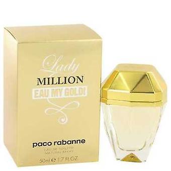 Lady Million Eau My Gold de Paco Rabanne Eau De Toilette Spray 1.7 Oz (femmes) V728-517938