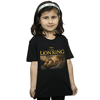 Disney Girls The Lion King Movie Baby Simba Photo T-Shirt