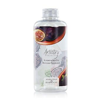 Ashleigh & Burwood Artistry Collection Reed Diffuser Refill Bottle 180ml Home Fragrance Sundrenched Fig