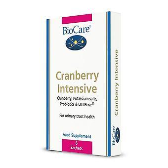 BioCare Cranberry Intensive Sachets 6 (77106)