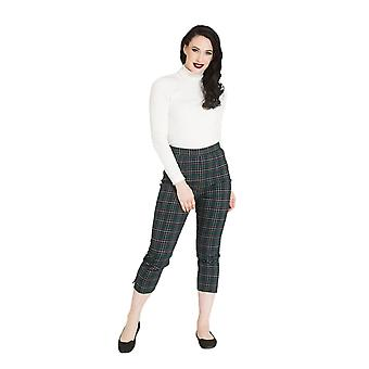 Hell Bunny Peebles Cigarette Trousers