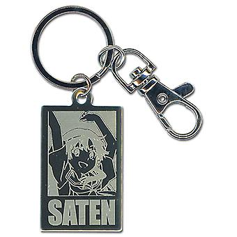 Key Chain - Certain Scientific Railgun - Saten Metal Anime New ge36787