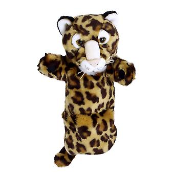 Hand Puppet - Long-Sleeved Glove - Leopard Soft Doll Plush PC006050