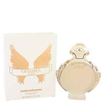 Olympea aqua eau de toilette spray door paco rabanne 533841 80 ml