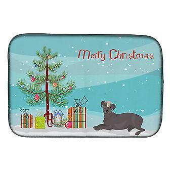 Ecuadorian Hairless Dog Christmas Tree Dish Drying Mat