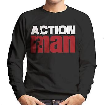 Action Man Logo Bullet Hole Men's Sweatshirt