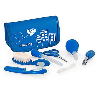 Miniland Baby Blue Kit (Akcesoria łazienkowe , Niemowlę , Dodatki Łazienkowe)