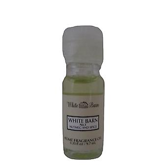 Bad & Body Works hvit barn no. 1 Muskat & Spice Home Fragrance Oil 0,33 oz/97 ml
