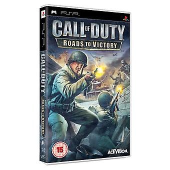 Call of Duty 3 Roads to Victory (PSP) - New