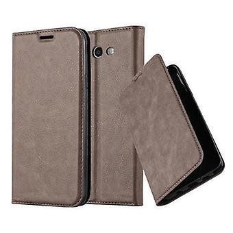 Cadorabo Custodia per Samsung Galaxy J7 2017 US Versione Case Cover - Custodia del telefono con chiusura magnetica, funzione Stand e card Compartment - Caso Cover Case Case Case Case Book Stile pieghevole